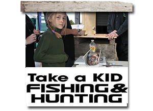 Take a kid hunting and fishing competition